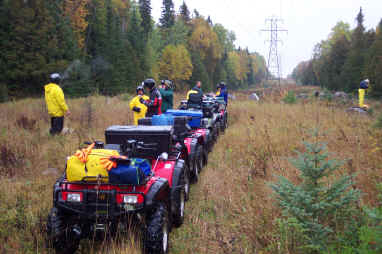 Somewhere on the trail from Gogama to Timmins.