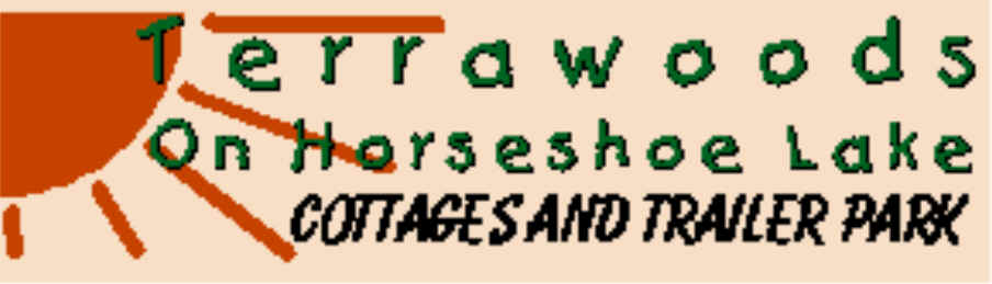 Terrawoods on Muskoka Shores Cottage & RV Resort 15 minuters from Bear Claw Tours