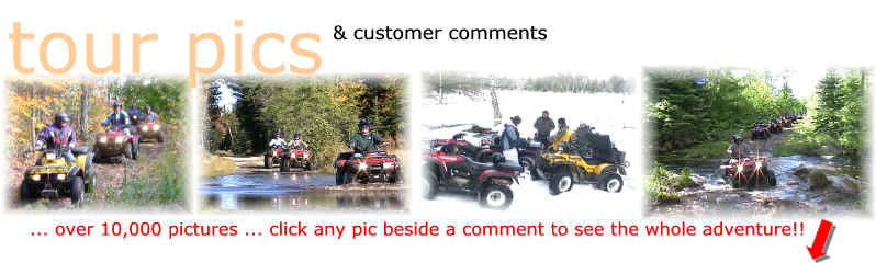 Bear Claw Tours - Over 10,000 ATV pictures covering all 4 seasons