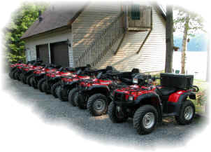 The Bear Claw Tours' Fleet.