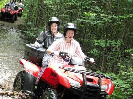 ... click me to see all the pictures from this Bear Claw Tours ATV Experience, Georgian Bay's Ultimate Adrenaline Adventure!
