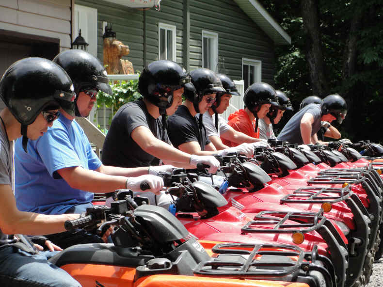 Parry Sound's Dirty Secret  ...  this is Bear Claw Tours' ATV Experience, Georgian Bay's Ultimate Adrenaline Adventure