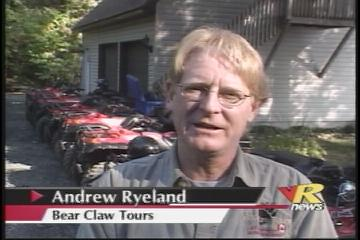 The New VR television coverage of Bear Claw Tours ... click here